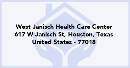 West Janisch Health Care Center