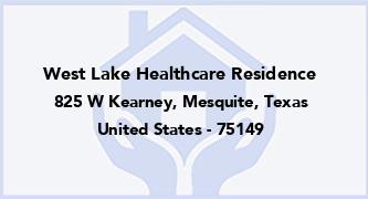 West Lake Healthcare Residence