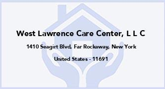 West Lawrence Care Center, L L C