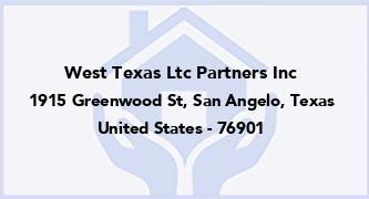 West Texas Ltc Partners Inc