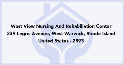 West View Nursing And Rehabiliation Center