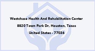 Westchase Health And Rehabilitation Center