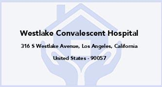 Westlake Convalescent Hospital