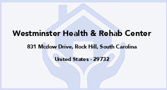 Westminster Health & Rehab Center