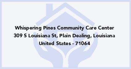 Whispering Pines Community Care Center