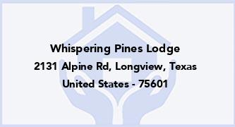Whispering Pines Lodge