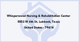 Whisperwood Nursing & Rehabilitation Center