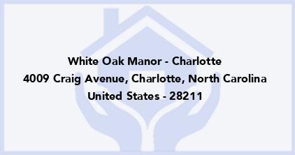 White Oak Manor - Charlotte