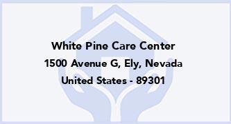 White Pine Care Center