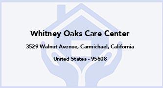 Whitney Oaks Care Center