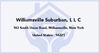Williamsville Suburban, L L C