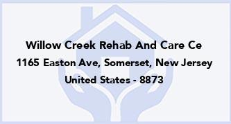 Willow Creek Rehab And Care Ce