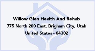 Willow Glen Health And Rehab