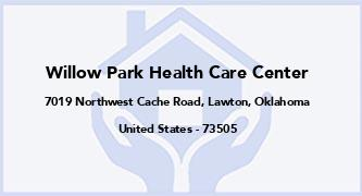 Willow Park Health Care Center