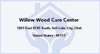 Willow Wood Care Center