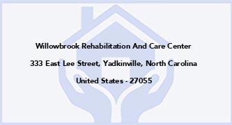 Willowbrook Rehabilitation And Care Center