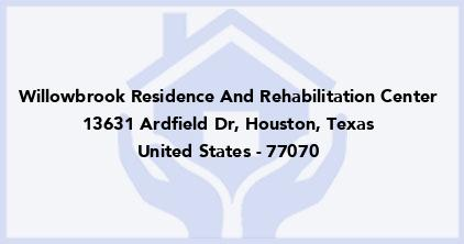 Willowbrook Residence And Rehabilitation Center