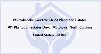 Willowbrooke Court Sc Ctr At Plantation Estates