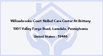 Willowbrooke Court Skilled Care Center At Brittany