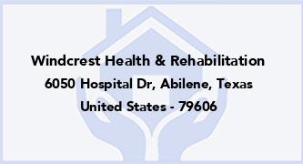 Windcrest Health & Rehabilitation