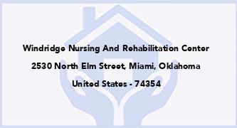 Windridge Nursing And Rehabilitation Center