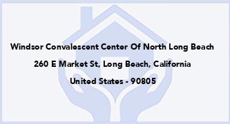 Windsor Convalescent Center Of North Long Beach