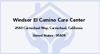 Windsor El Camino Care Center