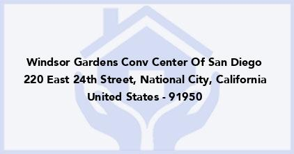 Windsor Gardens Conv Center Of San Diego