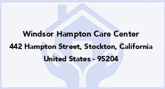 Windsor Hampton Care Center