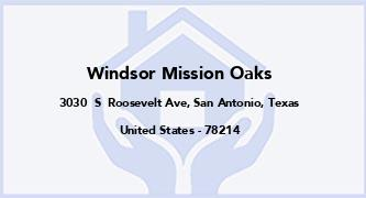 Windsor Mission Oaks