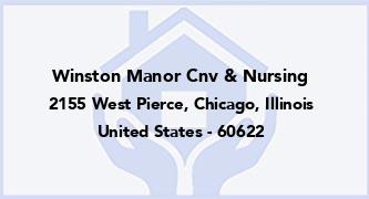 Winston Manor Cnv & Nursing