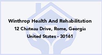 Winthrop Health And Rehabilitation