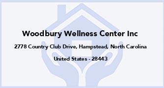 Woodbury Wellness Center Inc