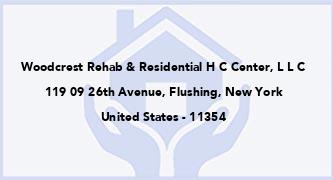 Woodcrest Rehab & Residential H C Center, L L C