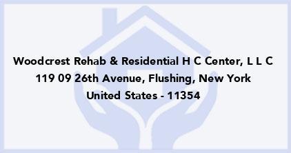 Woodcrest Rehab & Residential H C Center, L L C