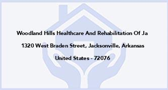 Woodland Hills Healthcare And Rehabilitation Of Ja