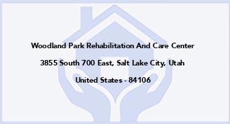 Woodland Park Rehabilitation And Care Center