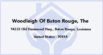 Woodleigh Of Baton Rouge, The