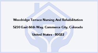 Woodridge Terrace Nursing And Rehabilitation