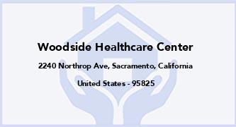 Woodside Healthcare Center