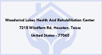 Woodwind Lakes Health And Rehabilitation Center