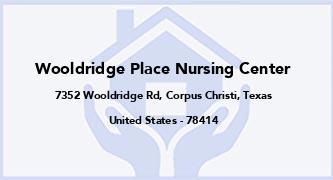 Wooldridge Place Nursing Center