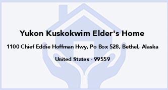 Yukon Kuskokwim Elder'S Home