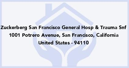 Zuckerberg San Francisco General Hosp & Trauma Snf